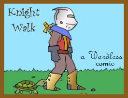 KNIGHT WALK web comic a really quiet adventure